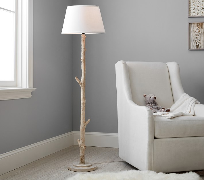Birch Floor Lamp , Pottery Barn Kids