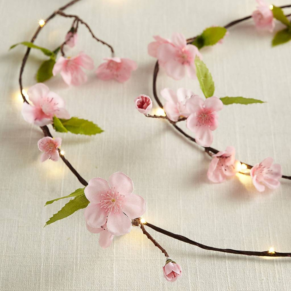 Cherry Blossom 10' LED Glimmer Strings , Pier 1