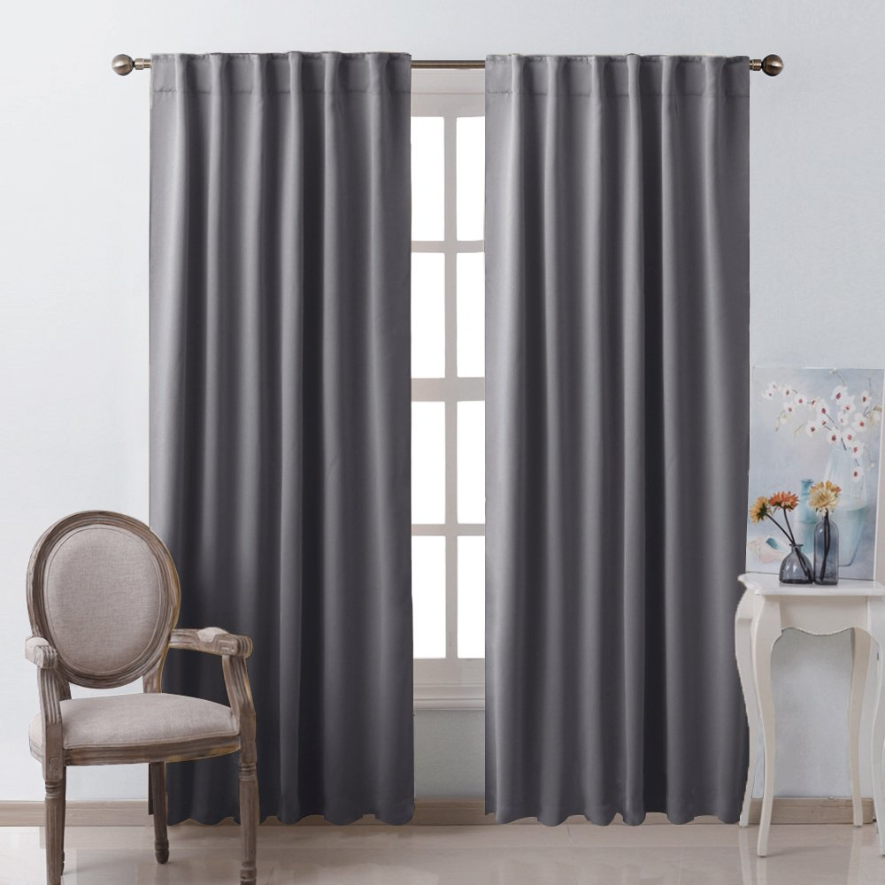 NICETOWN Blackout Curtain Panels Window Draperies , Amazon